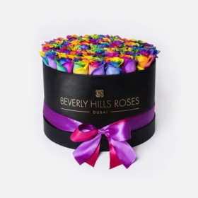 Rainbow roses in 'Candy Crush' – Black box