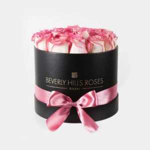 "Luxury Flowers Dubai ""Emotion"" in Medium Black Box"