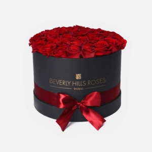 "Rose Box ""Hollywood"" in Medium Black Rose Box"