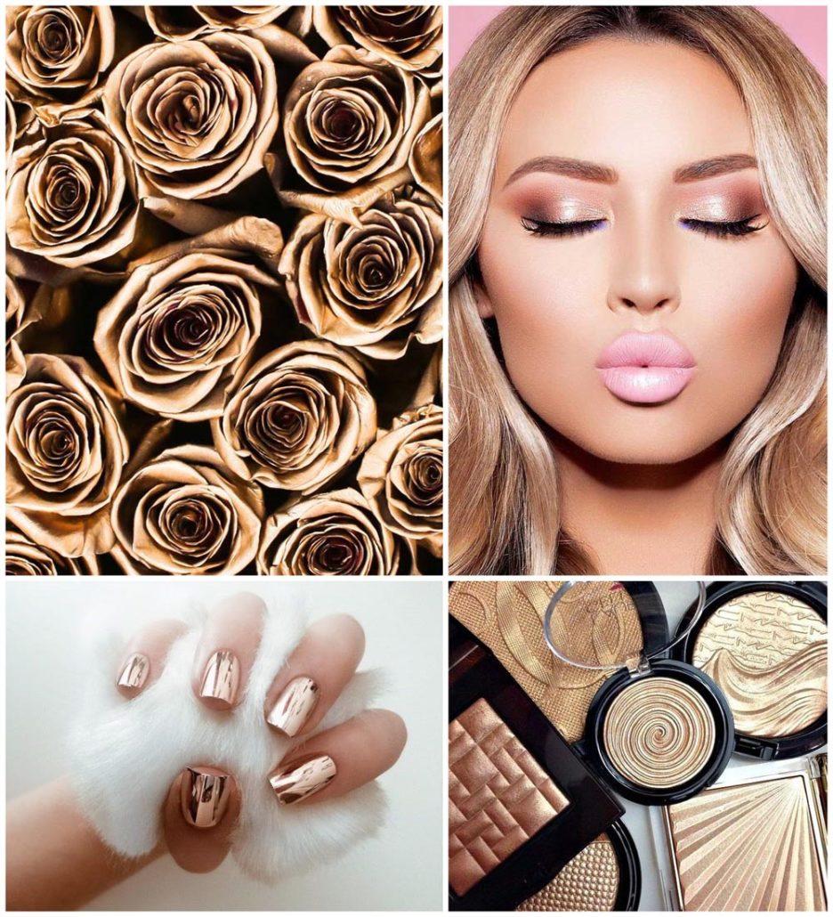 Rose-Gold-MakeUp-design-BeverlyHillsRoses