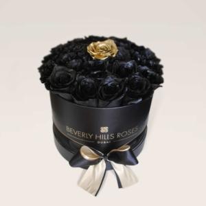 """Only Roses Dubai Mall """"Fanatsy"""" in Small Black Box"""