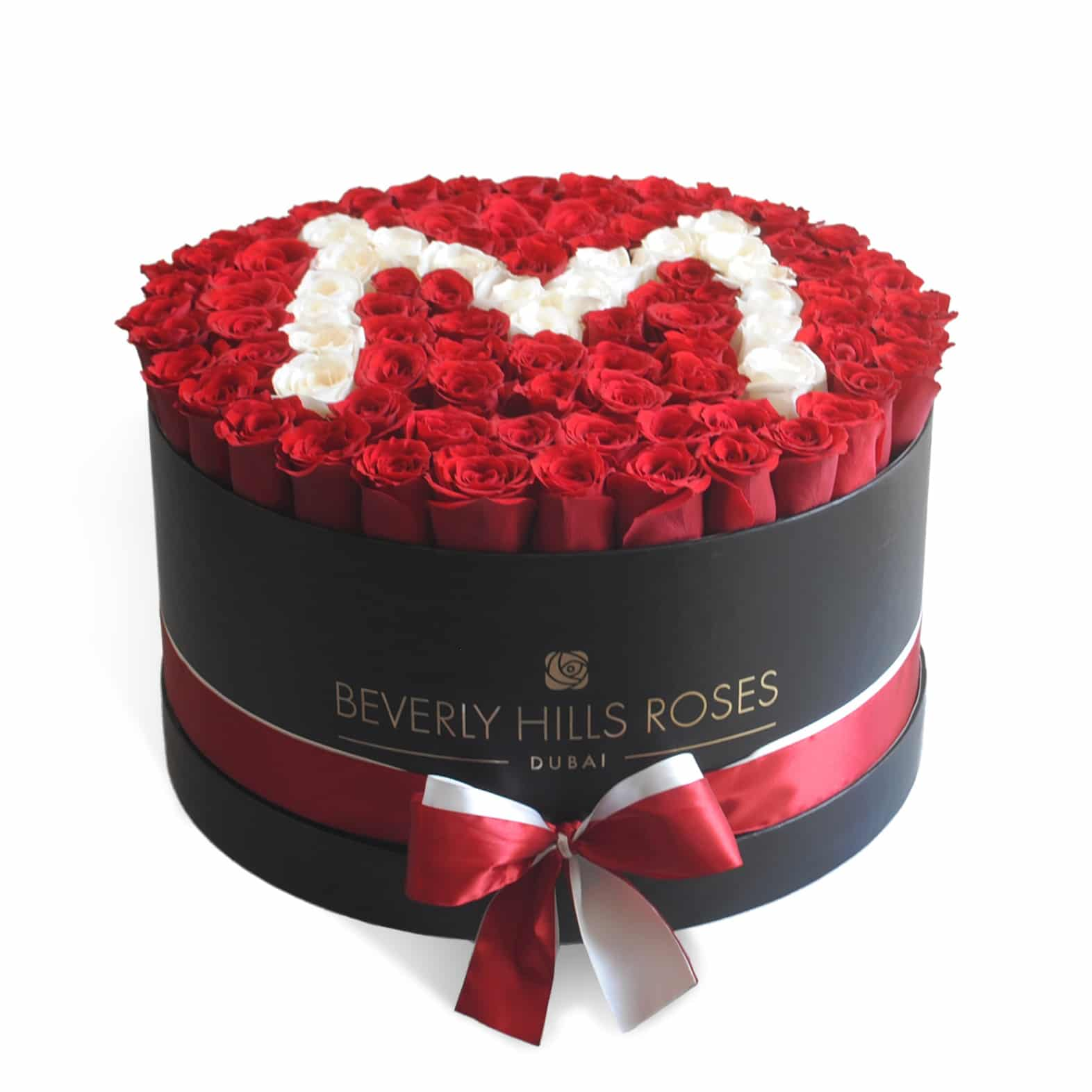 you name it large rose box beverly hills roses. Black Bedroom Furniture Sets. Home Design Ideas