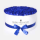 """Order Blue Roses """"Blue Lagoon"""" in Large White Box"""
