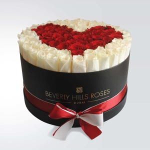 """Buy Red Roses """"Pure Love 02"""" in Large Black Box"""