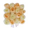 """Online Flower Delivery in Dubai """" Pretty Woman"""" in small white square box"""
