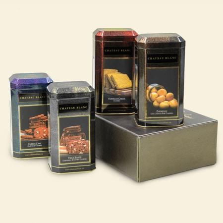 Carnelian Cookies Box of 4