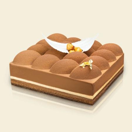 De Hazelnut Praline Cake