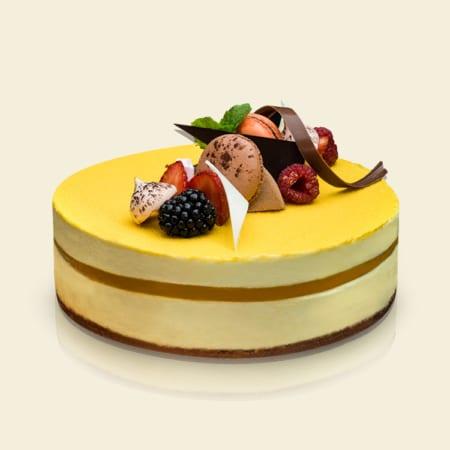 Tropical Mango Cake