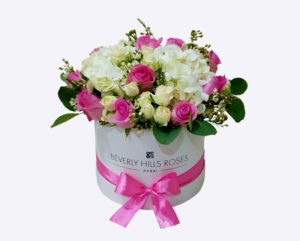 Pink roses in 'Gorgeous'