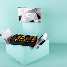 Mixed Stuffed Dates in Vivid Box