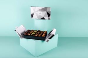 Mixed Stuffed Dates in Vivid Box