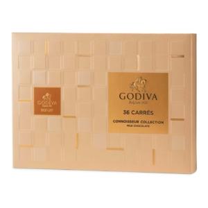 Godiva Milk Chocolate Carres Collection