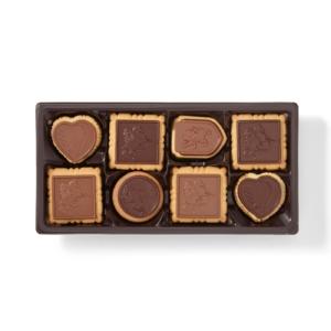 Godiva Chocolate Biscuit Open Tin Small