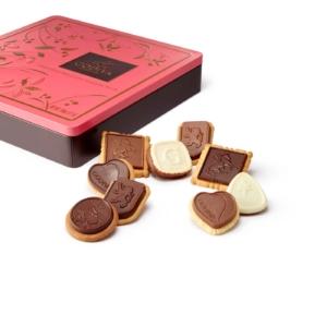 Godiva Chocolate Biscuit Closed Tin Large