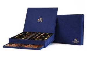 Godiva Luxury Royal Chocolate Box Blue Large