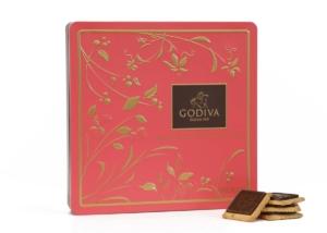 Godiva Chocolate Biscuits