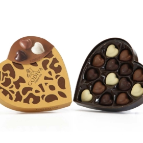 Chocolates in 'Coeur'