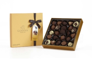 Chocolates in 'Gold'