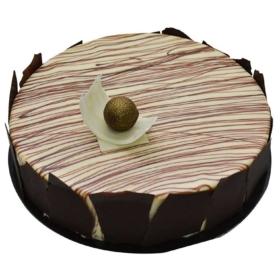 Marble birthday Cake