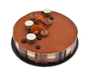 Trio Chocolate Cake