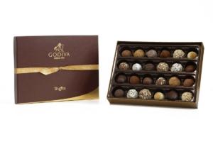 Godiva Signature Truffles in a box