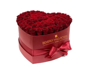 Red roses in Hollywood Heart