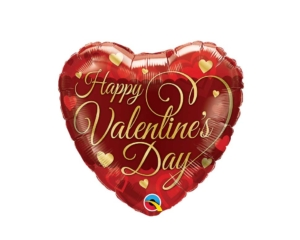 Valentine's Heart foil Balloon
