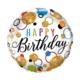 Birthday Glitter Dots round balloon