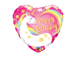 Magical Unicorn Happy birthday Balloon