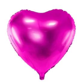 Dark Pink Heart foil Balloon