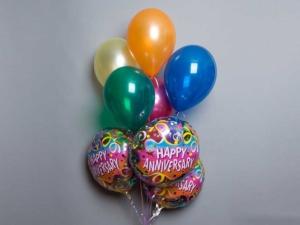 Happy Anniversary Balloon bouquet