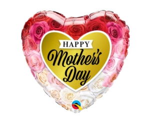 Happy Mother's Day Roses Foil Balloon