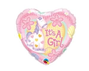 New Baby girl Pony Balloon