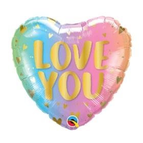 Love You Hearts Balloon