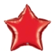 Red Star foil Balloon