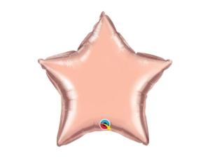 Rose Gold Star foil Balloon