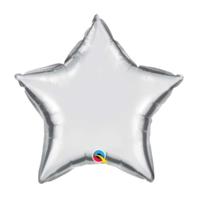 Silver Star foil Balloon