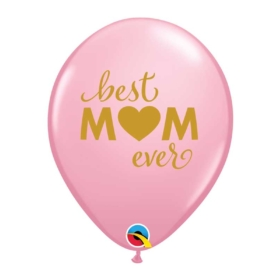 Simply Best M(Heart)M Ever Pink Balloon