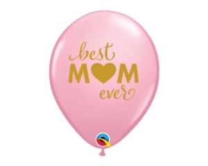 Mothers day Pink rubber Balloon